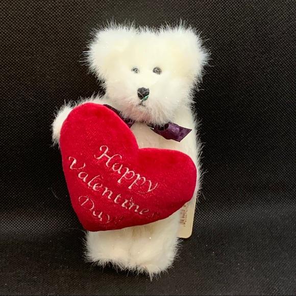 "Boyds Bears ""U. B. Mine"" Plush Valentine Bear"